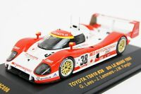 Toyota Ts010 38, Lees 1993 24h Le Mans Racing Cars, Ixo Lmc056 Diecast 1/43