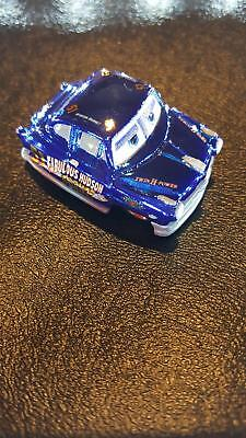 DISNEY PIXAR CARS MINI RACERS METALLIC DIRT TRACK FABULOUS HUDSON HORNET #33