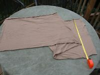 Us Military Issue Brown Cotton Neck Scarf Usgi - Lot Of Two (2)