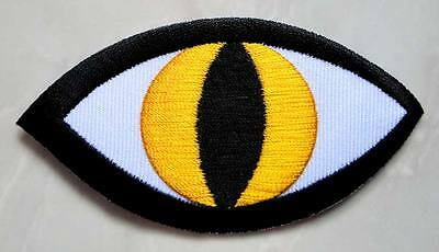 #01 Devil Evil Monster Strange Eye Embroidered Iron on Patch Free Shipping
