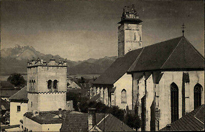 Heimatbeleg Kežmarok Käsmark Kreuzkirche Slowakei Unikat Postkarten-Format  ~1940 | eBay