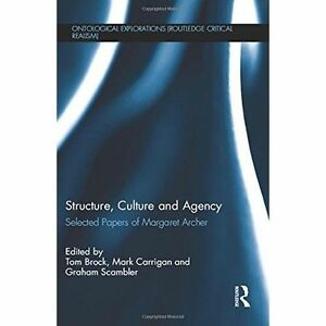 culture and agency archer margaret s