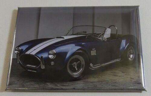 Großartig Magnet Magnet Kühlschrank Shelby AC Cobra Lang 78 mm Haut 54 mm Neu