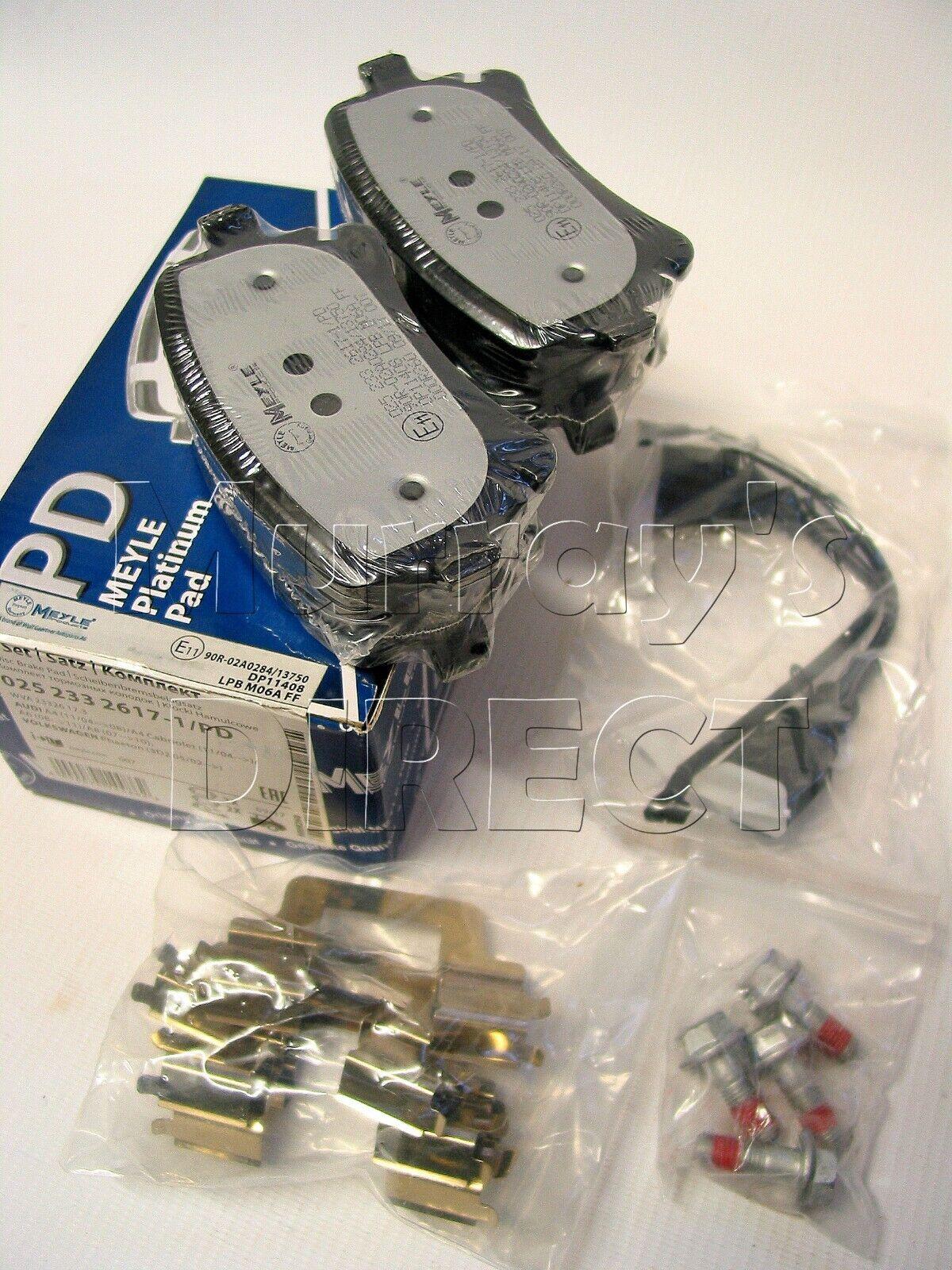 Car Parts Meyle Platinum Rear Brake Pads Vw T5 T6 Transporter Camper Van Caravelle 294mm Vehicle Parts Accessories Visitestartit Com