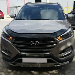 HYUNDAI-TUCSON-2015UP-BONNET-WIND-STONE-DEFLECTOR-PROTECTOR-NOT-BONNET-BRA