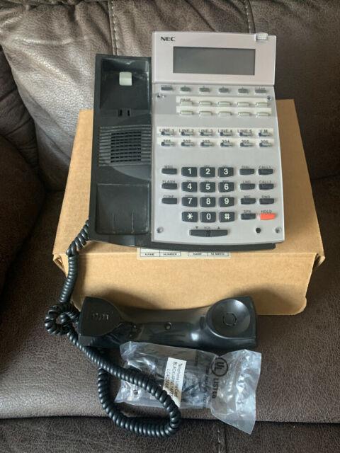 NEC UX5000 IP3NA-24TXH Black Display Phone 0910048 C-Stock Refurbished