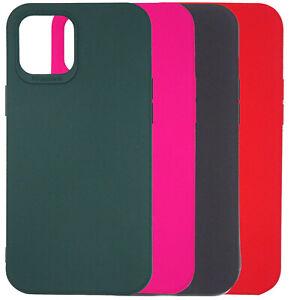 Pellicola-vetro-Custodia-cover-TPU-SMOOTH-CASE-per-Apple-iPhone-12-Pro-Max-6-7-034