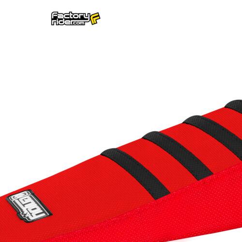 2013-2014 HONDA CRF 250 L Red//Black RIBBED SEAT COVER BY Enjoy MFG