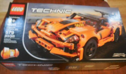 New Factory Sealed 42093 LEGO Technic Chevrolet Corvette ZR1 Building Toy Set