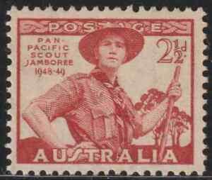 OL32-AUSTRALIA-1949-SCOUT-JAMBOREE-SET-OF-1V-MNH