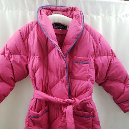 Elkmont Down Robe Full Length Pink Cabin Ski Lodge