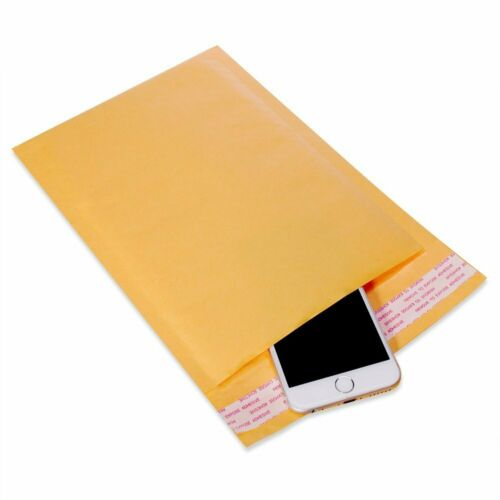 """50 Pack 14.25/""""x 20/"""" Kraft Bubble Mailers Self Seal Padded Shipping Envelopes Bag"""