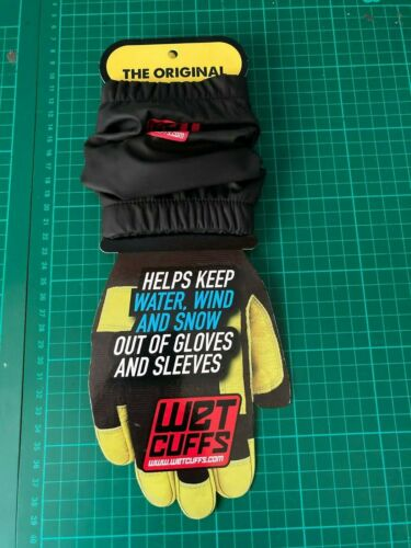Wet Cuffs KEEP WATER WIND AND SNOW OUT OF GLOVES AND SLEEVES *NEW*