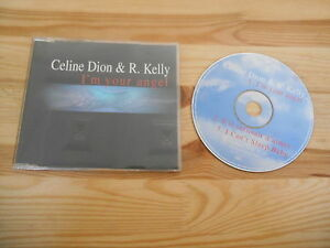 CD-pop-Celine-Dion-r-Kelly-I-039-m-your-Angel-3-chanson-MCD-Columbia