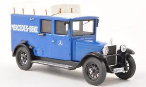 #11157 Premium classixxs mercedes l1000 Express MB-servicio posventa-azul 1:43