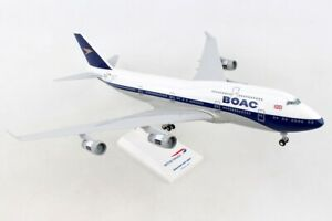 Skymarks-SKR1015-BOAC-British-Airways-B747-400-Retro-Desk-Model-1-200-Airplane