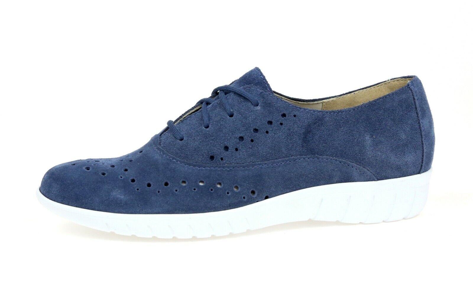 Munro Womens Wellesley bluee Suede Oxford Sneaker Sz 6 N 1259