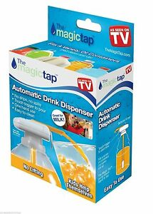 New-Magic-Tap-The-spill-proof-automatic-drink-dispenser-As-Seen-On-TV-Fast-Ship