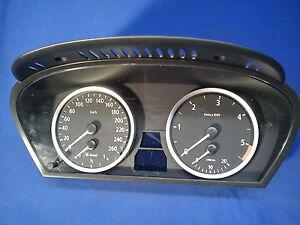 BMW-5er-E60-E61-Tacho-Cockpit-Instrumentenkombi-170Tkm-Bj-06-6-983-153-6983153