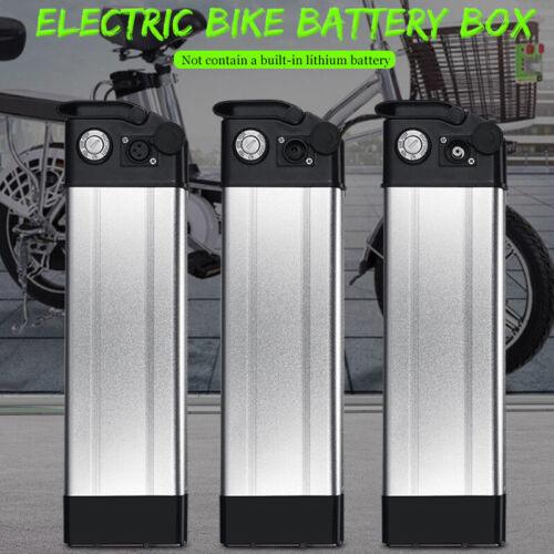 Case Battery Box Holder box Plastic 36V//48V Large Capacity 18650 E-bike Hot Sale