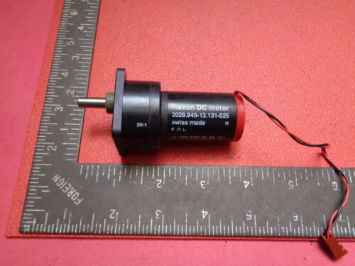 Maxon geared DC motor 2028.945-13.131-025 with 30:1 gearbox LOTGBM7718