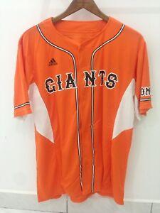 4f9aec3fc913e Details about Vintage Tokyo Yomiuri Giants Japan Nippon Baseball Jersey  Shirt Orange Adidas