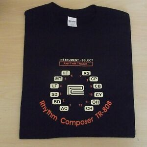 RETRO-T-SHIRT-SYNTH-DESIGN-TR-808-DRUM-MACHINE-S-M-L-XL-XXL
