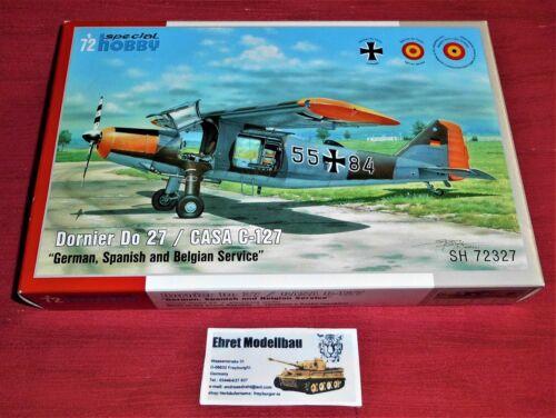 Special Hobby 100-SH72327 Dornier Do 27 German Bundeswehr Spanish and Belgian