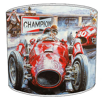 Lampshades Ideal To Match Vintage & Retro Cars Bedding Sets & Duvets Covers.