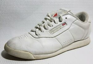 25e7e771b84a REEBOK Womens 8.5 Med Classic White Athletic Tennis Shoes Sneakers ...