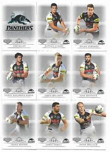 2018-NRL-Elite-Penrith-PANTHERS-9-Card-Mini-Team-Set