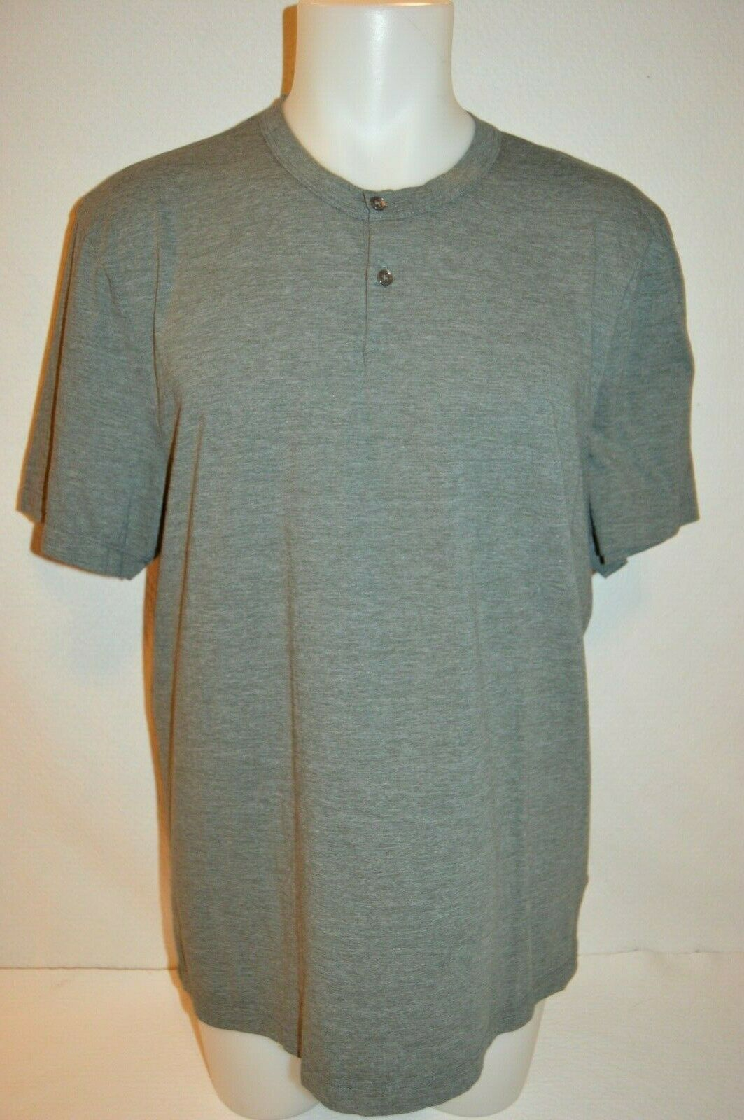 JAMES PERSE Man's Button Up T-Shirt NEW Size 4 X-Large  Made in USA