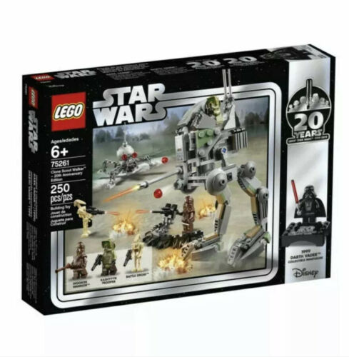 LEGO Star Wars 75261 20th Anniversary Clone Scout Walker Vader New