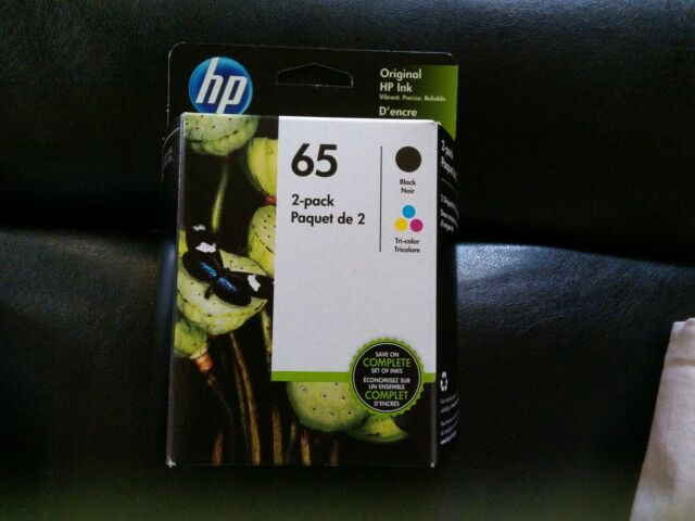NEW HP T0A36AN#140 65 Black & Tri-color Original Ink Cartridges 2 pack July 2020