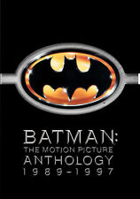 Batman: The Motion Picture Anthology 1989-1997 (DVD,1997)