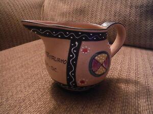 Santucci Deruta Italie Porcelaine Céramique Décoratif Pitcher-washington D.c.-afficher Le Titre D'origine Dthcesa0-07225009-980186467