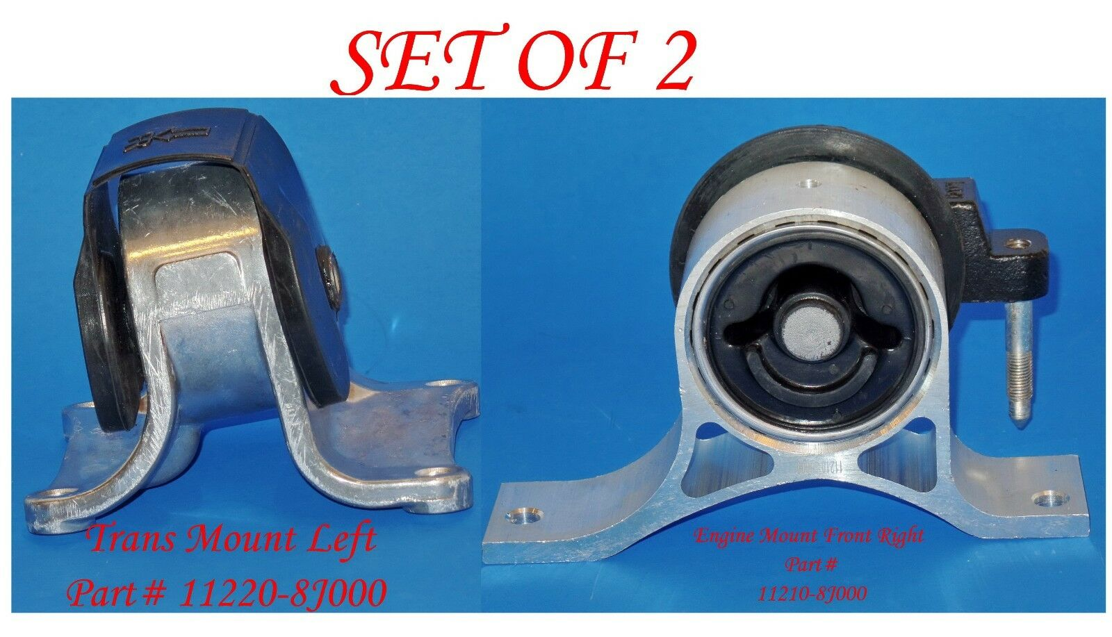 4Pcs Suspension Ball Joint For 1974 Ford Mustang II 2+2