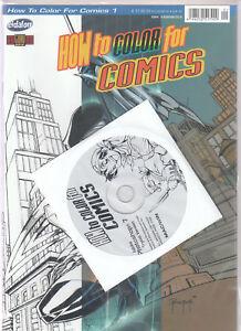 How-to-Color-for-Comics-mit-CD-Softcover-Comic-vom-Eidalon-Verlag