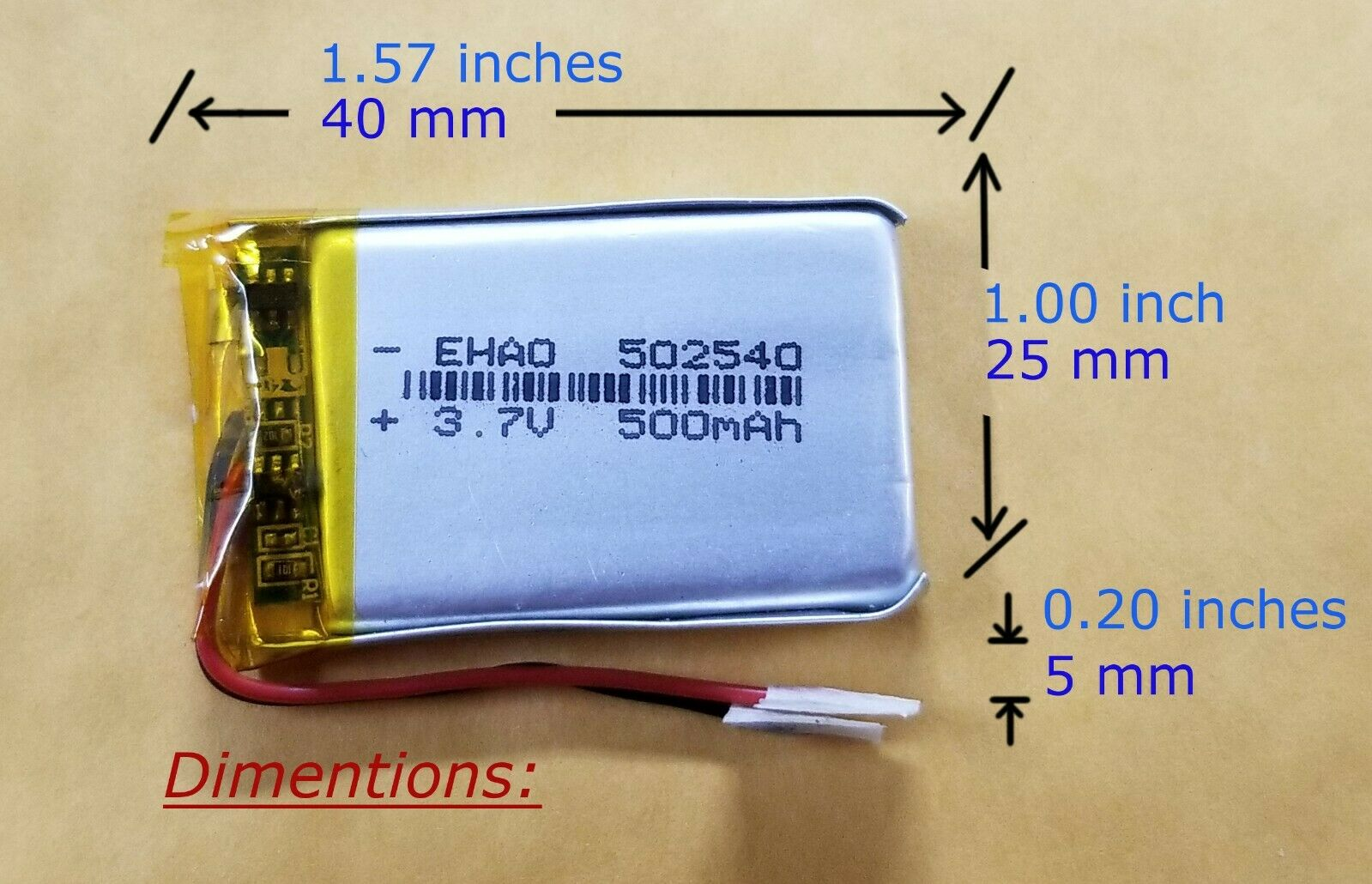 4X 3.7V 600mAh Li-po Rechargeable Battery for X5C X5SW Helicopter//headset//toy WW