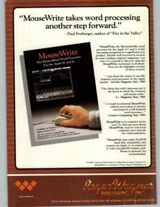 MouseWrite-Roger-Wagner-Publishing-Apple-II-ProDOS-1985-Print-Ad