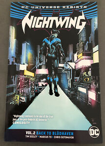 DC-Comics-Nightwing-Rebirth-TPB-2-Vol-2-Back-To-Bludhaven-New-Dick-Grayson-New
