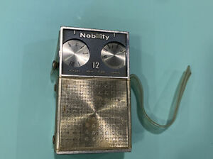 Vintage Nobility 12 Transistor Radio AM Japan With ClearCase Working