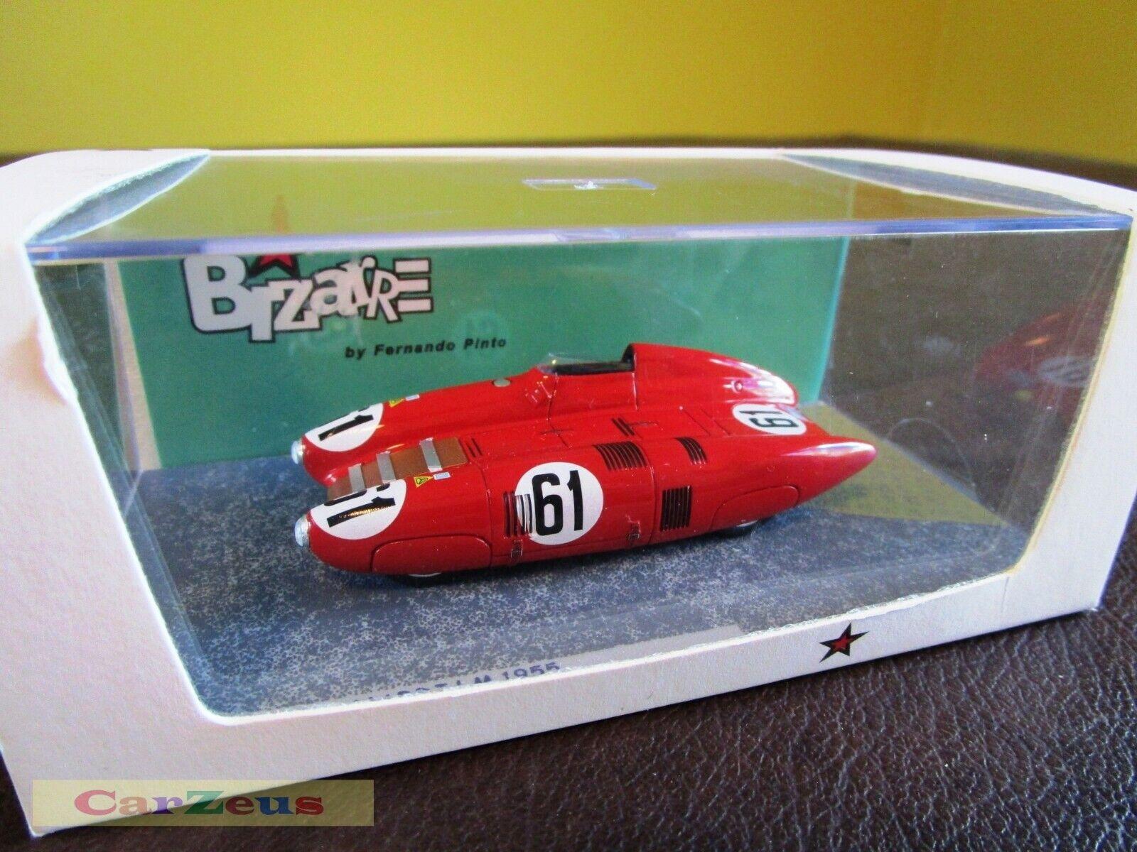 1 43 Bizarre, Nardi 750 Bisiluro, 24h Le Mans 1955,  61