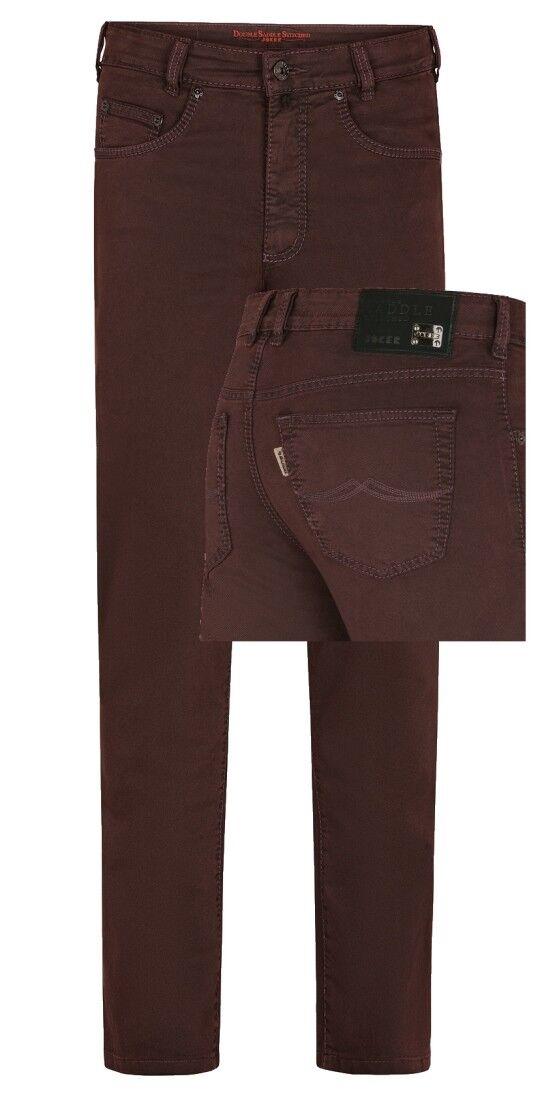 Joker Jeans Jeans Jeans Clark Stretch 3466-0708 bordeaux Jeans Uomo 7f05cc