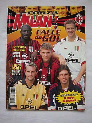 2019 Neuer Stil Orig.jahresheft / Prg / Guide Ac Mailand (italien) - Saison 1999/00 ! Selten