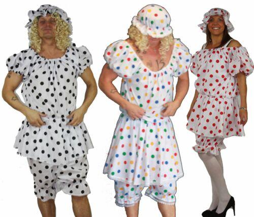 Zia Sally Panto Dame Divertente Mare Bloomers Mocio Cappello Costume