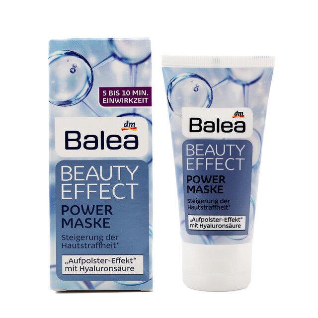 Balea ANTI WRINKLE Power Mask & HYALURONIC ACID & SHEA BUTTER Beauty Effect 50ml