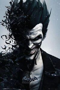 joker poster batman origins bats scary face 61x91cm new licensed