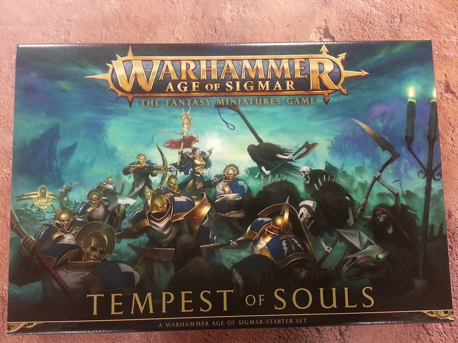 WARHAMMER AGE OF SIGMAR TEMPEST OF SOULS CORE STARTER SET - NEW
