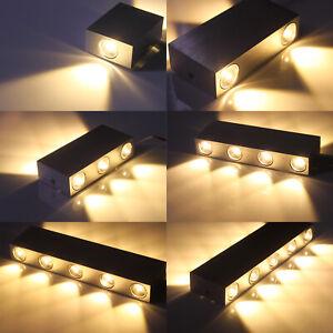 Details zu 2W-10W LED Wandleuchte Schlafzimmer Wandlampe Treppen Flur Lampe  Strahler Modern